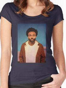 Childish Gambino Pharos New Design Women's Fitted Scoop T-Shirt