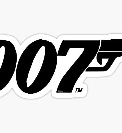 James Bond Sticker