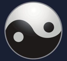 Yin Yang T-shirt - Ying Yan Sticker by deanworld