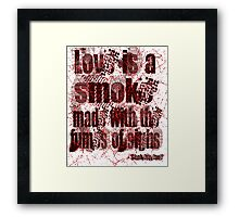 Love Quote - Shakespeare Framed Print