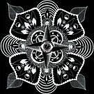 Eye Mandala Inverted by EmilySkelling