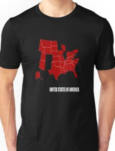 the new america 2016 election map Unisex T-Shirt