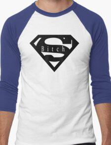 Super Bitch Stylish Women t shirt top Men's Baseball ¾ T-Shirt