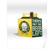 One Beer Poster