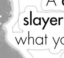 Sherlock Holmes - A dragon slayer. Is that what you think of me? Sticker