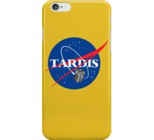 Tardis NASA T Shirt Parody Dr Dalek Who Doctor Space Time BBC Tenth Police Box iPhone Case/Skin