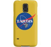 Tardis NASA T Shirt Parody Dr Dalek Who Doctor Space Time BBC Tenth Police Box Samsung Galaxy Case/Skin