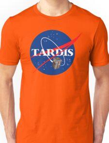 Tardis NASA T Shirt Parody Dr Dalek Who Doctor Space Time BBC Tenth Police Box Unisex T-Shirt