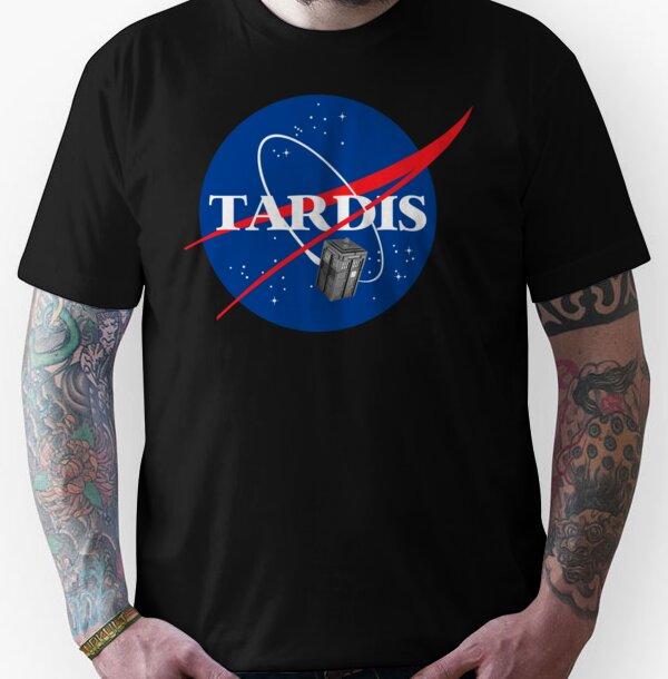 Tardis NASA T Shirt Parody