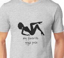 Yoga, on my back Unisex T-Shirt