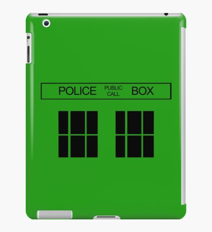 THE BLUE BOX T Shirt Doctor Doc Dalek BBC Bow Tie TV Tenth Eleventh Who Police iPad Case/Skin
