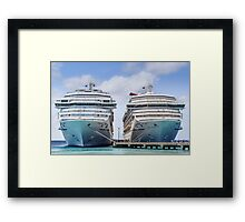Carnival Liberty and Victory Framed Print