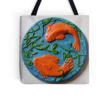 goldfish through the weeds Tote Bag