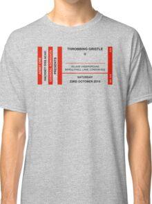 Throbbing Gristle Ticket Classic T-Shirt
