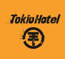 Tokio Hotel Black T-shirt Size S M L XL by beardburger
