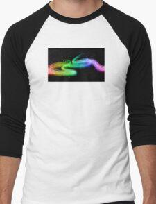 Colour flow Men's Baseball ¾ T-Shirt