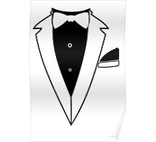 TUXEDO t shirt wedding t shirt funny t shirt cool tshirt wedding shirt bachelor party shirt (also available on crewneck sweatshirts) SM-5XL Poster
