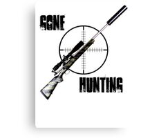 Gone Hunting Canvas Print