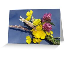 IRISH WILDFLOWERS Greeting Card
