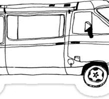 Volkswagen Surf Van Sticker