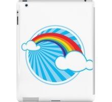 Colourful Rainbow iPad Case/Skin
