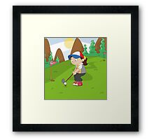 Non Olympic Sports: Golf Framed Print