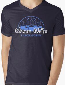 Walter White Laboratories T Shirt Breaking Pinkman Bad AMC Heisenberg Mr White Mens V-Neck T-Shirt