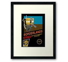 Borderlands 8-Bit NES Cover Framed Print