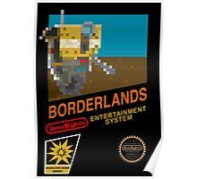Borderlands 8-Bit NES Cover Poster