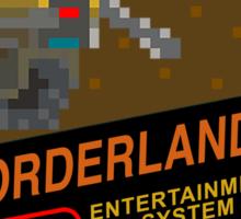 Borderlands 8-Bit NES Cover Sticker