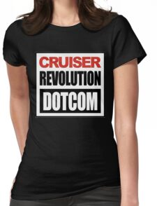 Cruiser Revolution T-shirts Womens Fitted T-Shirt