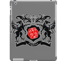 Coat of Arms - Fighter iPad Case/Skin