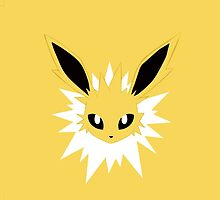 Jolteon iphone case  by Excels