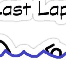 Swimmer - Last Lap Sticker