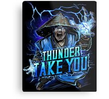 Thunder God Metal Print