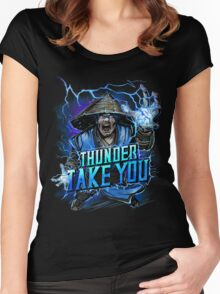 Thunder God Women's Fitted Scoop T-Shirt