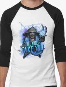 Thunder God Men's Baseball ¾ T-Shirt