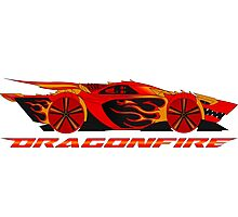 Dragonfire Car Photographic Print