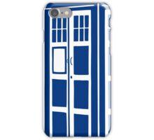 Colour Me Tardis iPhone Case/Skin