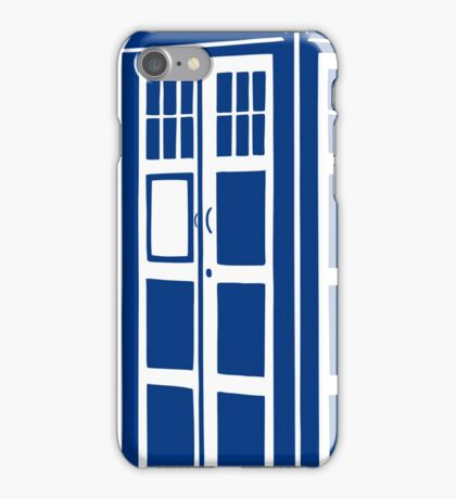 Colour Me Tardis iPhone Case/Skin