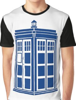 Colour Me Tardis Graphic T-Shirt