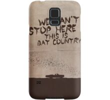 Fear and Loathing in Las Vegas movie poster Samsung Galaxy Case/Skin