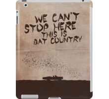 Fear and Loathing in Las Vegas movie poster iPad Case/Skin