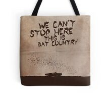 Fear and Loathing in Las Vegas movie poster Tote Bag