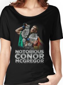 McGregor - Double Champ - Silver Women's Relaxed Fit T-Shirt
