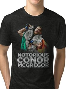 McGregor - Double Champ - Silver Tri-blend T-Shirt