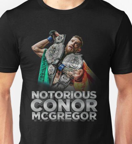 McGregor - Double Champ - Silver Unisex T-Shirt