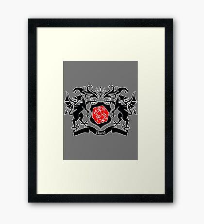 Coat of Arms - Bard Framed Print