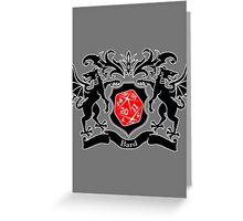 Coat of Arms - Bard Greeting Card