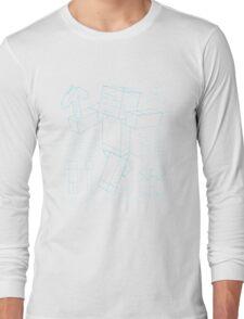 Plan Minecraft Long Sleeve T-Shirt
